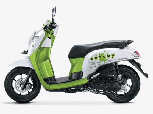 Pilihan warna All New Scoopy 2017 warna Playful Green