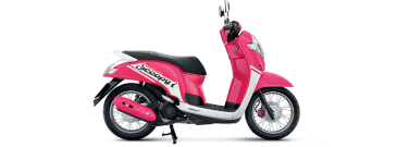 Warna All New Scoopy I 2017 Thailand ring-14 pink