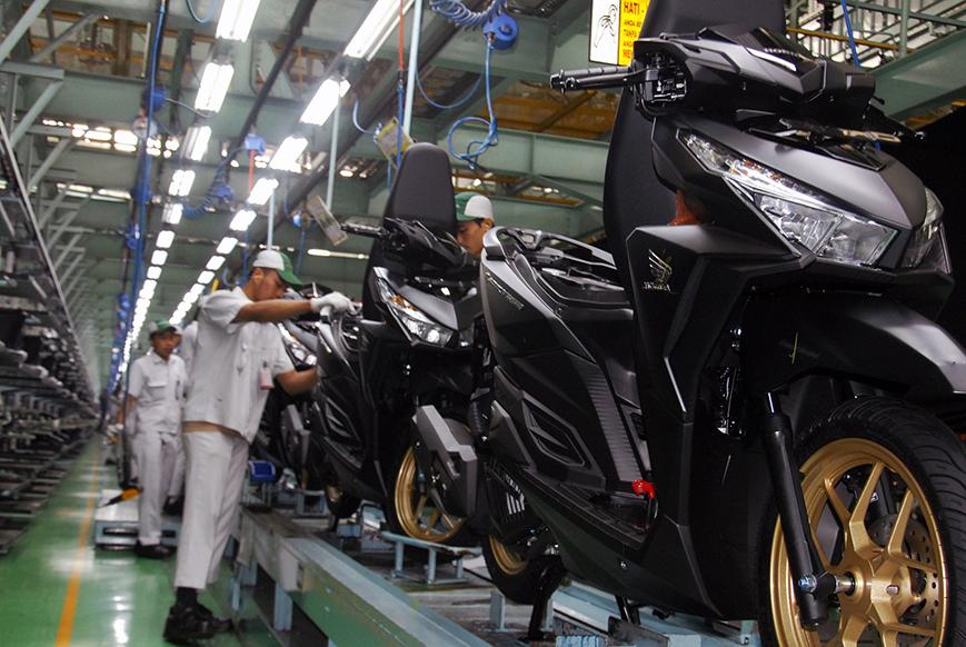 Produksi Motor Honda Vario 150 di Indonesia