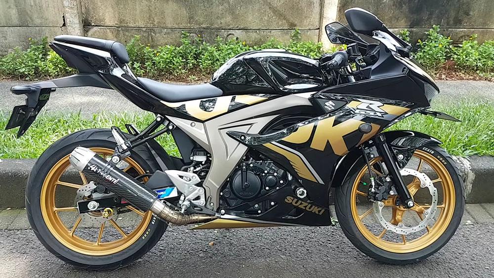 Suzuki GSX-R150 Velg Gold