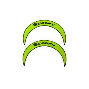 Aksesoris Sticker Back Mirror All New Scoopy Sporty Black Harga 32 ribu