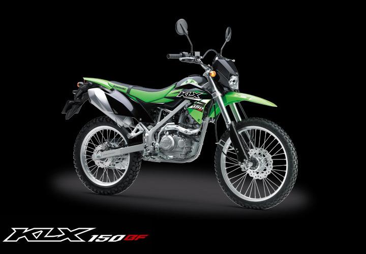 Kawasaki KLX 150BF warna Hijau