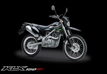 Kawasaki KLX 150BF warna Hitam