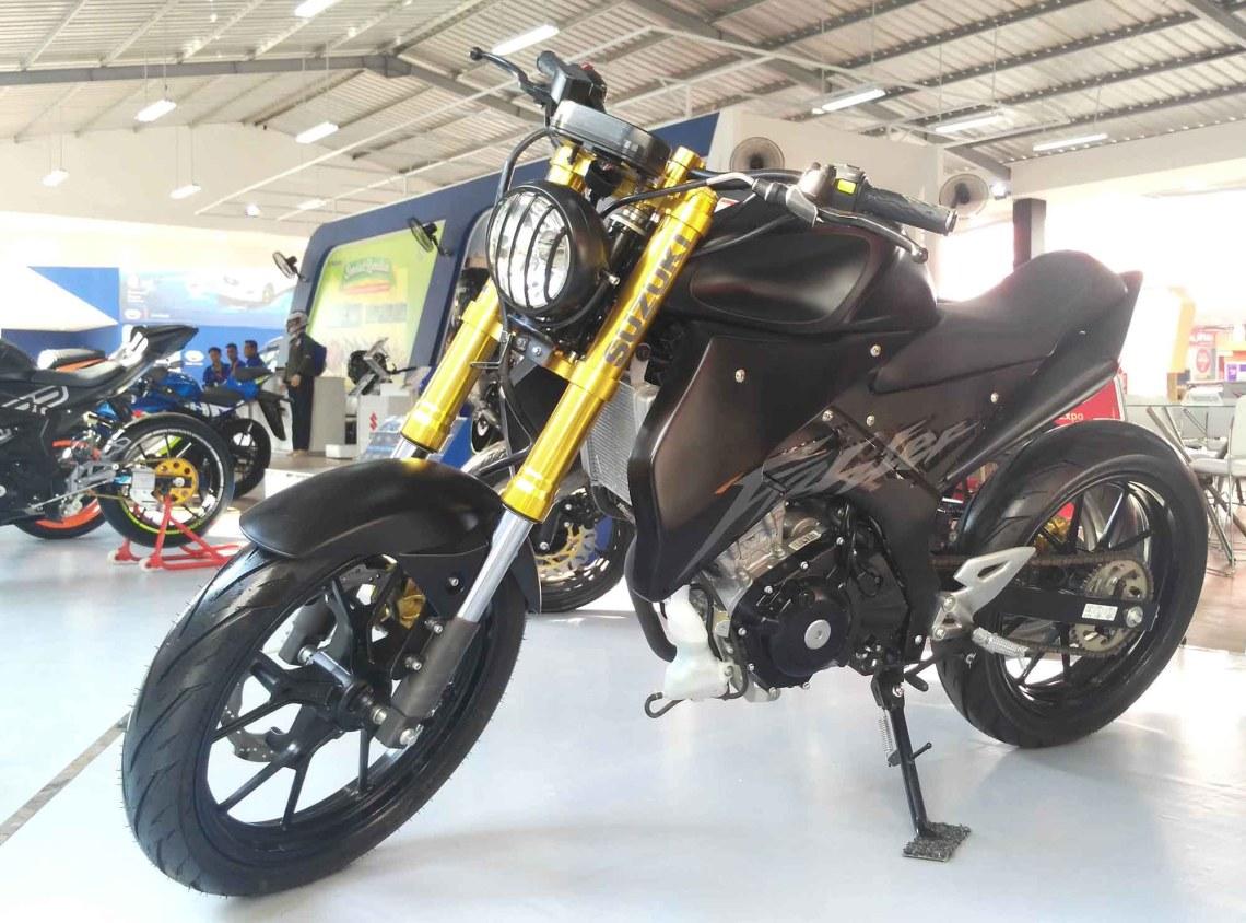 Modifikasi Suzuki GSX Street Fighter