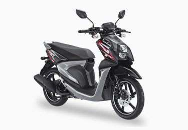 Pilihan Warna All New X-Ride 125 warna Hitam