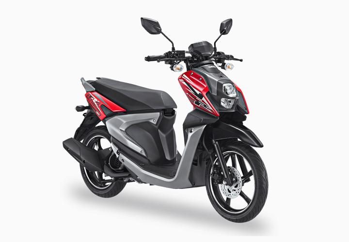 Pilihan Warna All New X-Ride 125 warna Merah