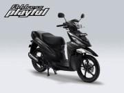 Pilihan Warna Suzuki Address Playful warna Dark Grey