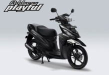 Pilihan Warna Suzuki Address Playful warna Dark Grey