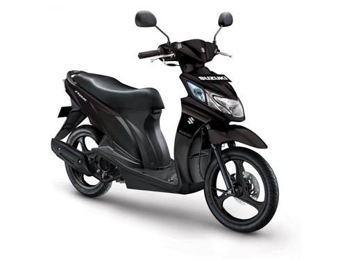 Suzuki Nex 2017 Matt Black
