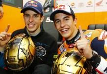 Alex Marquez dan Marc Marquez