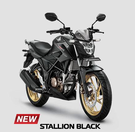 New CB150R 2017 warna Stallion Black