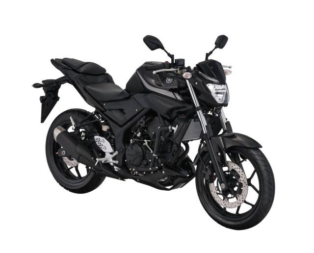 Warna Yamaha MT-25 Black Metalic