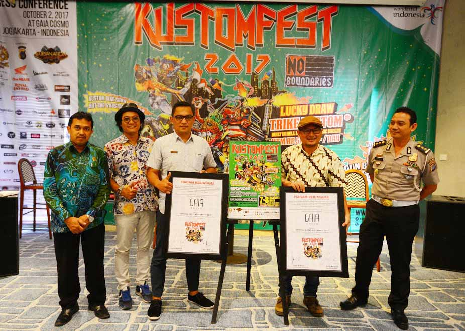 Konferensi Pers KUSTOMFEST 2027 Yogyakarta