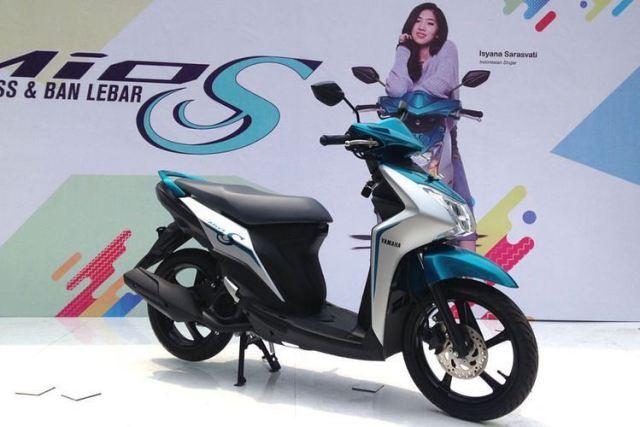 Launching Yamaha Mio S