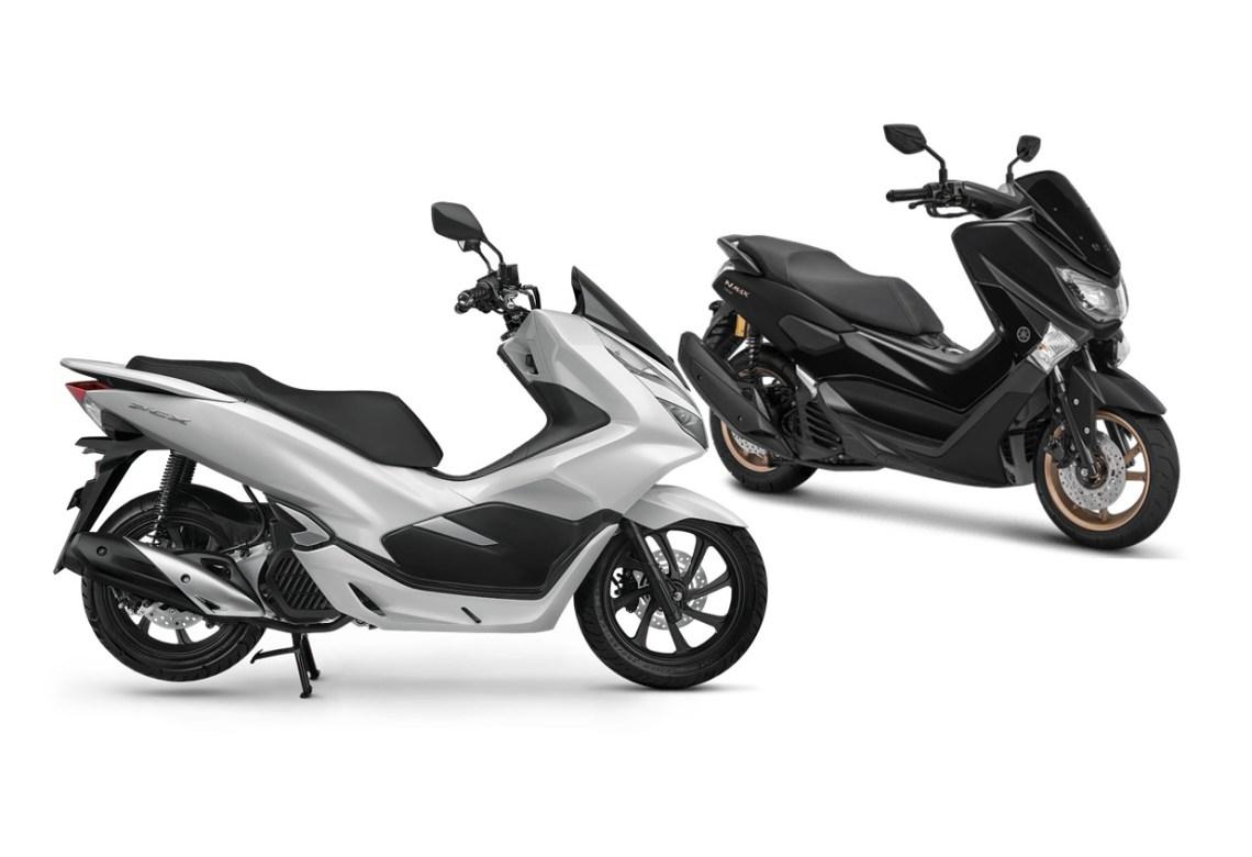 Honda PCX Lokal vs Yamaha NMax