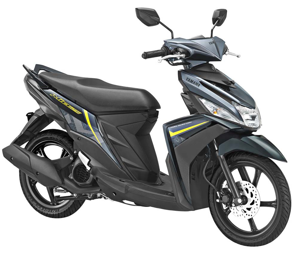 Warna Mio M3 2018 Amazing Black