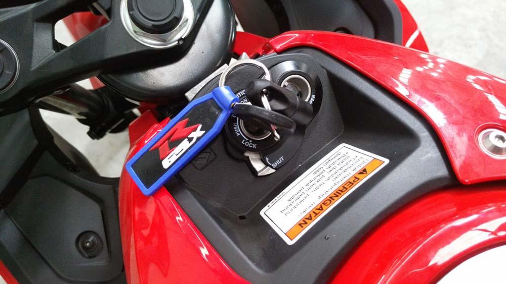 Suzuki GSX-R150 Non Keyless