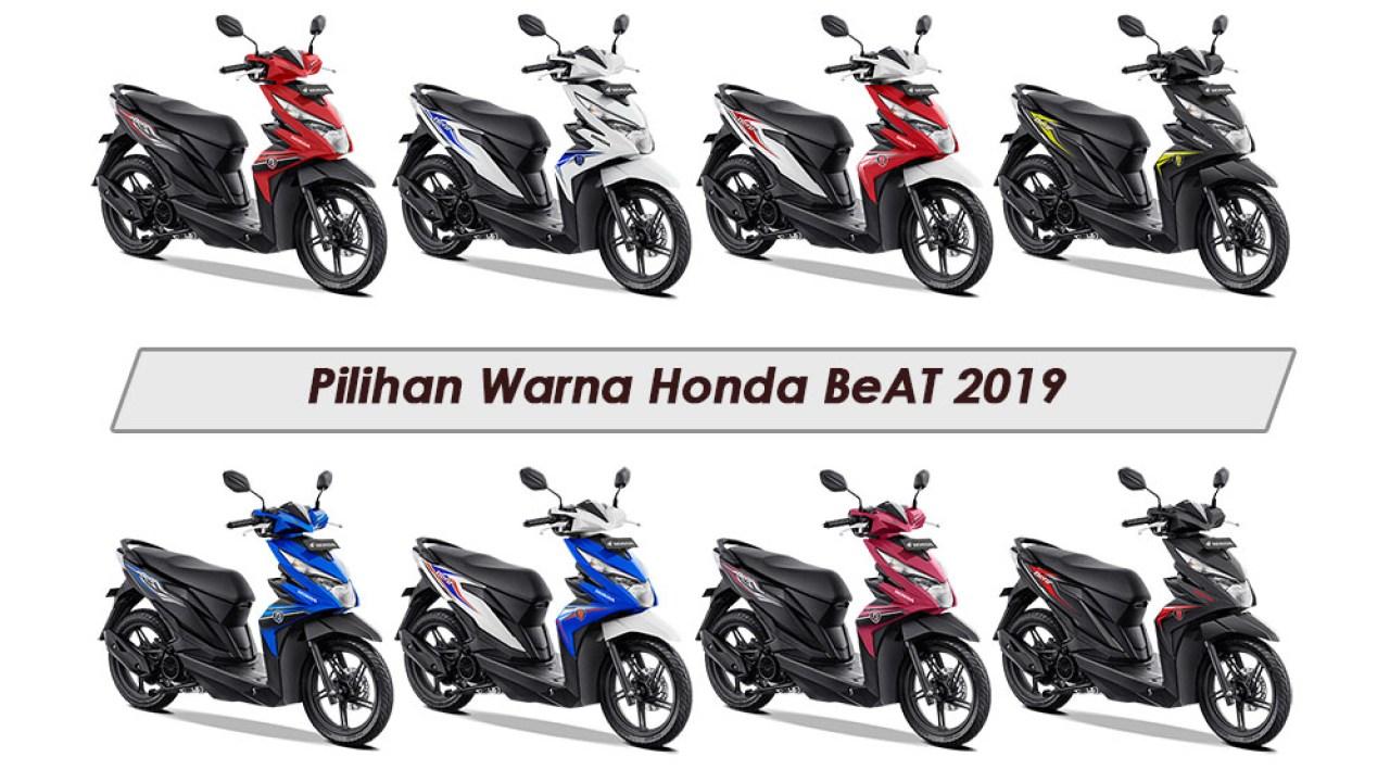 8 Pilihan Warna Honda Beat 2019 Dalam 3 Varian Cw Cbs Dan