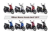 Pilihan Warna Honda BeAT 2019