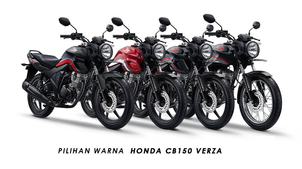 Pilihan Warna Honda CB150 Verza