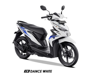 Warna BeAT 2019 CW Putih Dance White