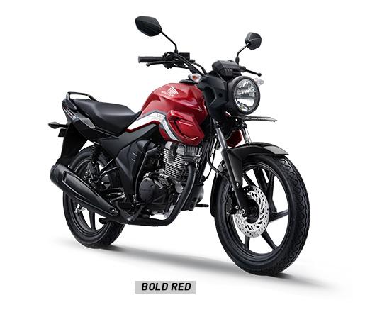 Warna Honda CB150 Verza 2019 CW Merah