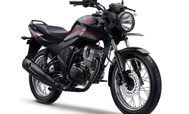 Warna Honda CB150 Verza 2019 SW Hitam Glossy