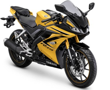 Warna Yamaha R15 2018 Racing Yellow