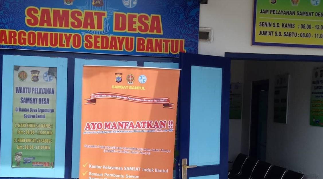 Samsat Desa, Pertama di Yogyakarta