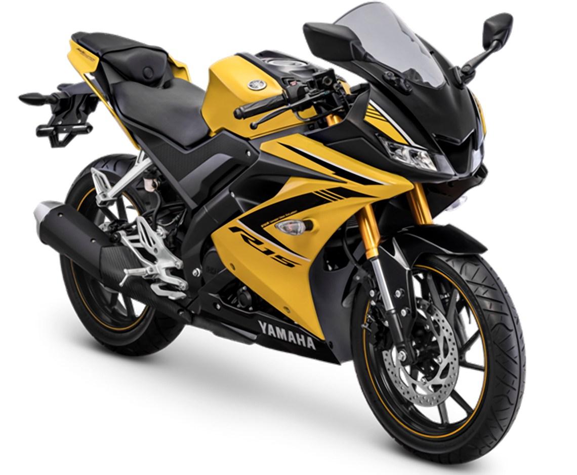 Foto R15 Racing Yellow HD