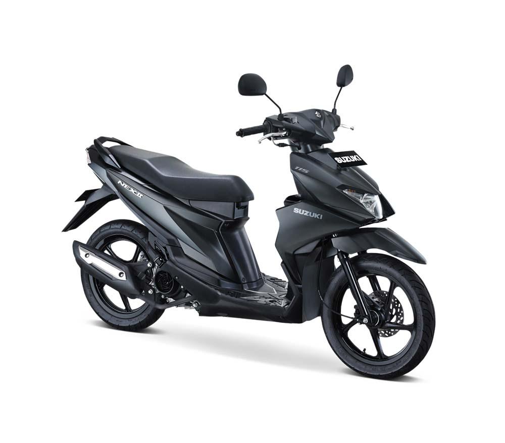 Suzuki NEX II Elegant Accessories Solid Black