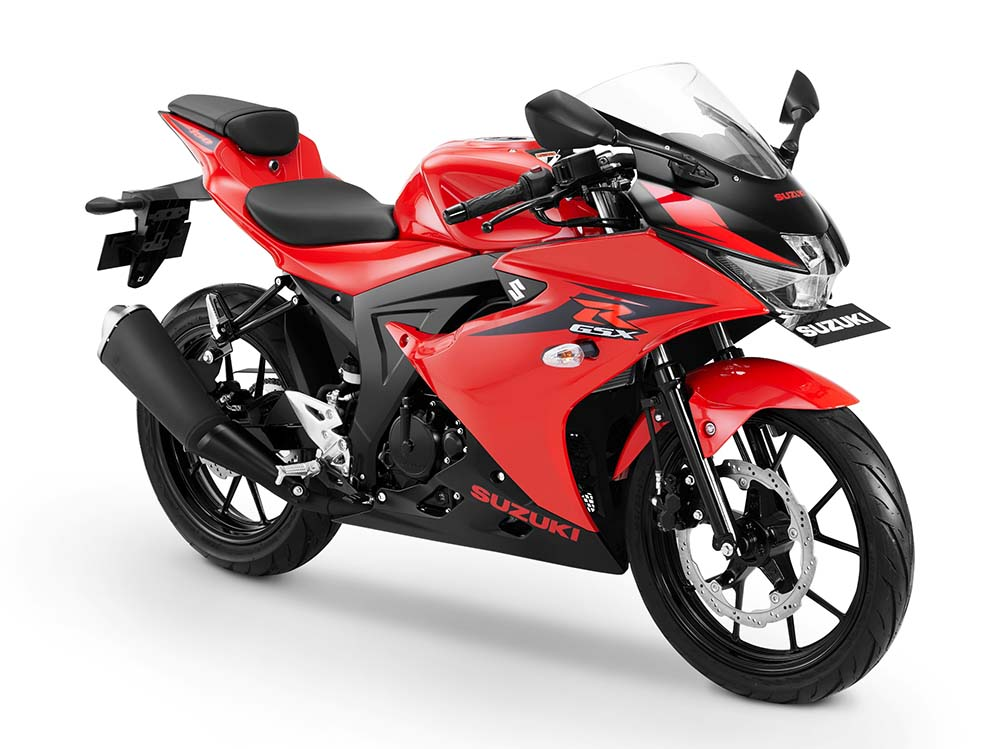 Warna GSX-R150 Shuttered Key - Merah