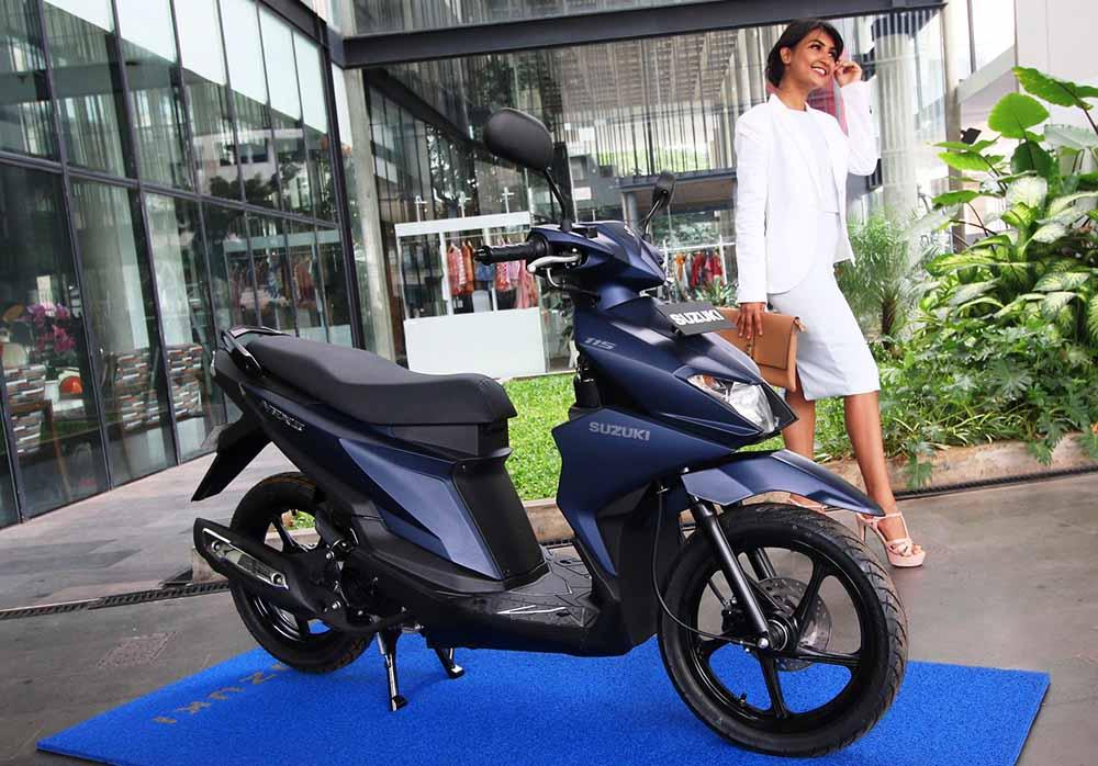 Harga Perkenalan Suzuki NEX II Rp 14 jutaan