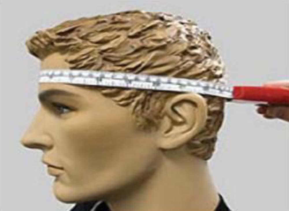 Mengukur Lingkaran Kepala untuk Memilih Ukuran Helm yang pas