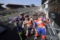 Podium MotoGP Perancis 2018, Marquez memimpin klasemen sementara