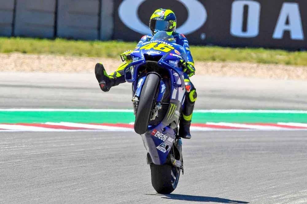 Valentino Rossi paling sering menang di Mugello
