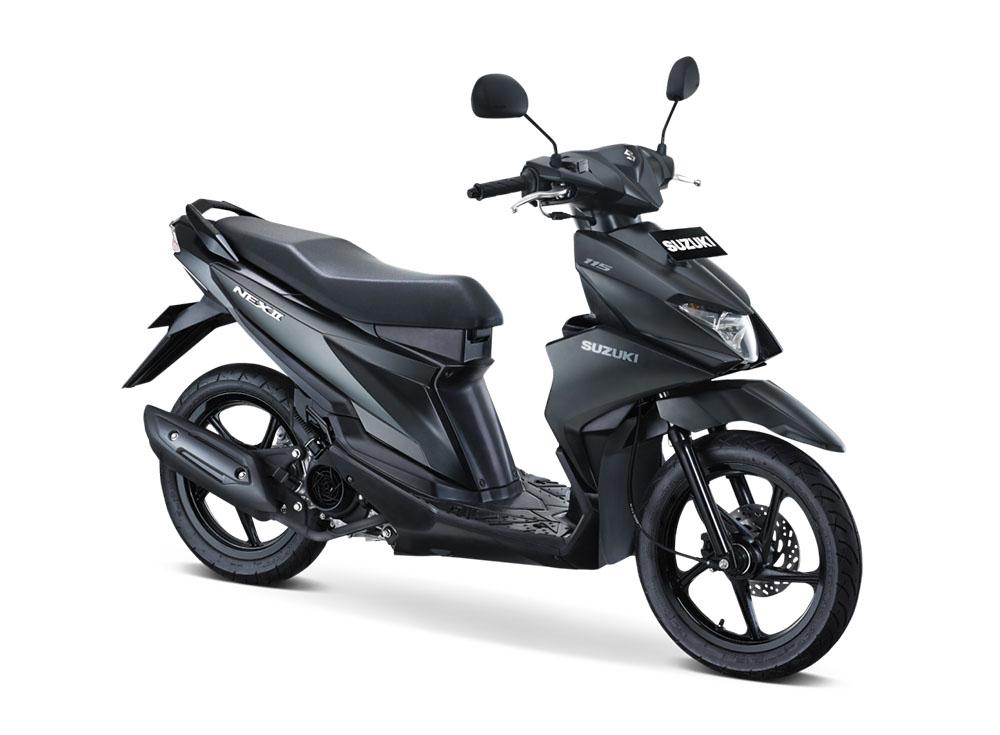 Warna Suzuki NEX II Elegant Solid Black