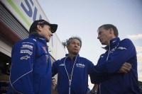 Jorge Lorenzo bersama Bos Yamaha