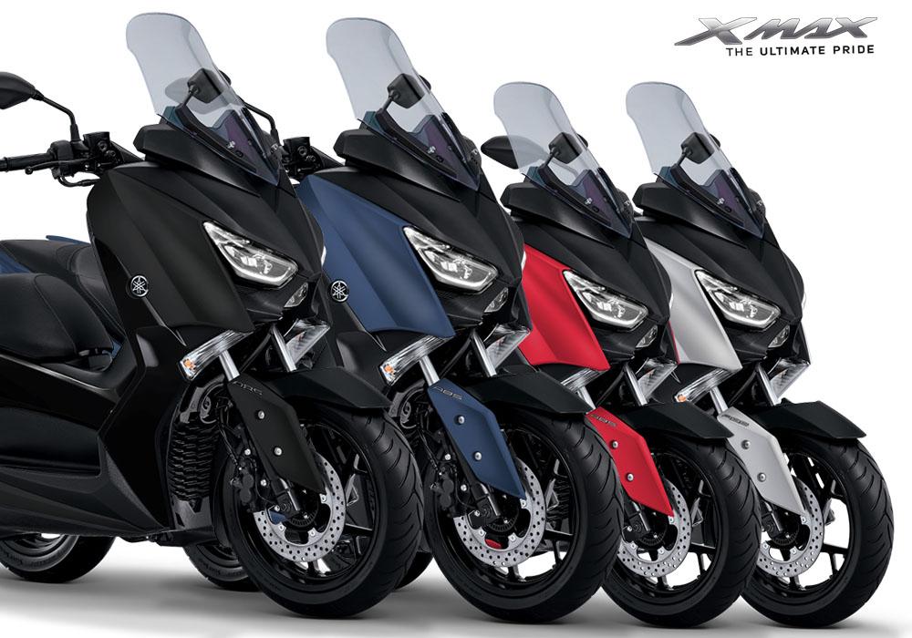 Pilihan Warna Yamaha XMax