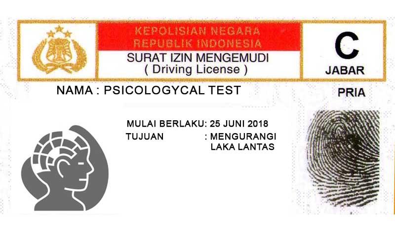 Tes Psikologi SIM