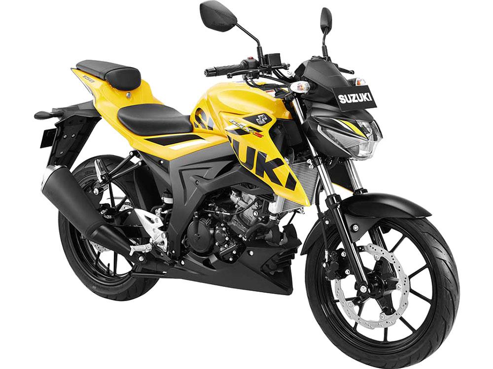 Warna GSX-S150 Keyless Kuning