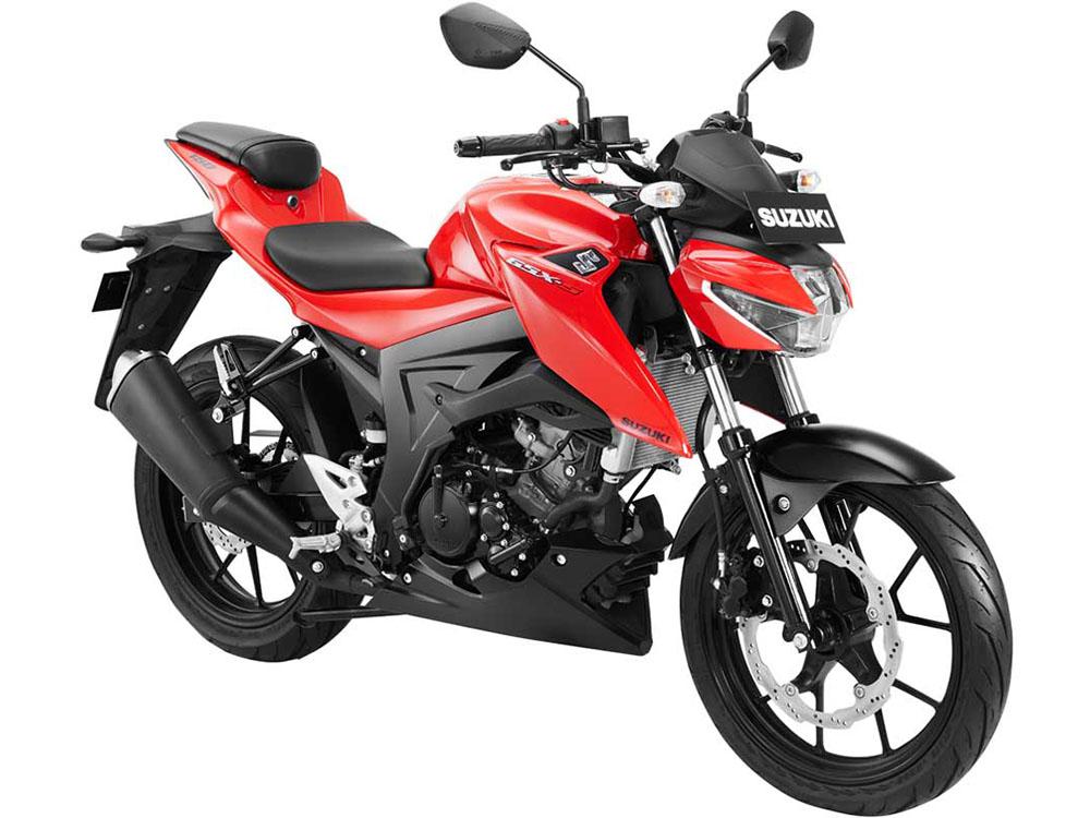 Warna GSX-S150 Shuttered Key Merah