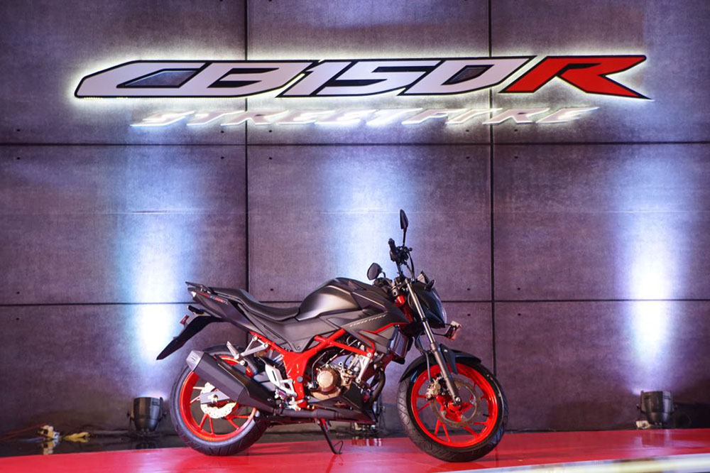 Launching Honda CB150R facelift 2018