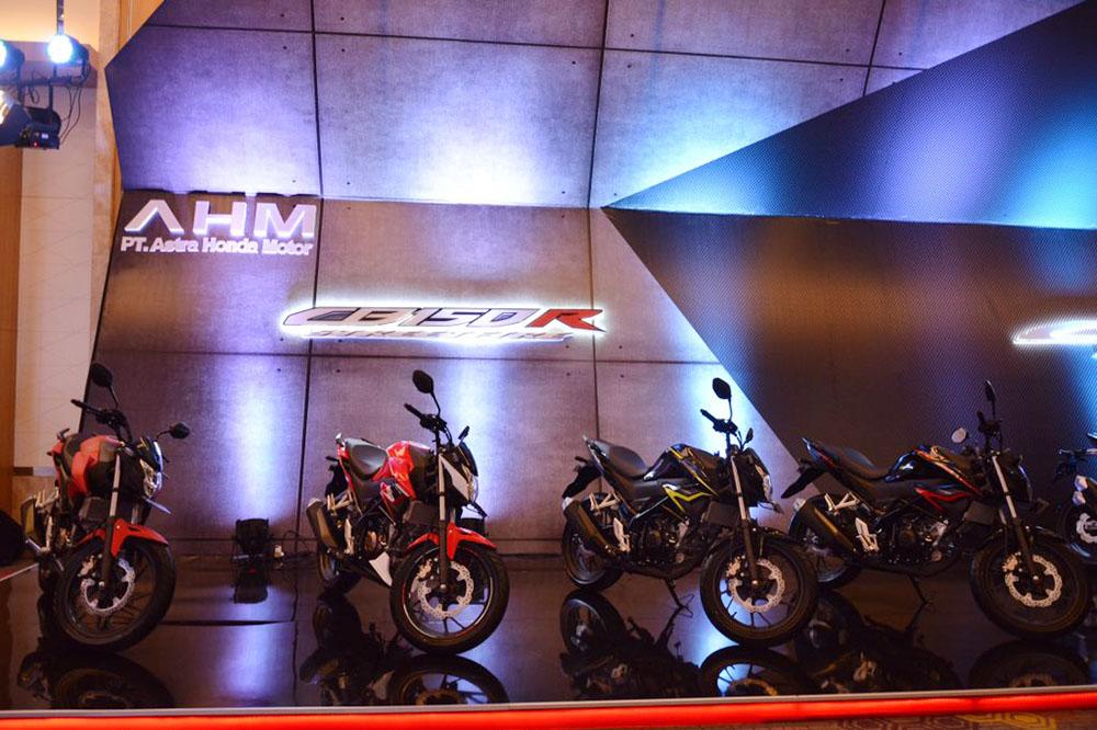 Pilihan Warna All New CB150R facelift 2018