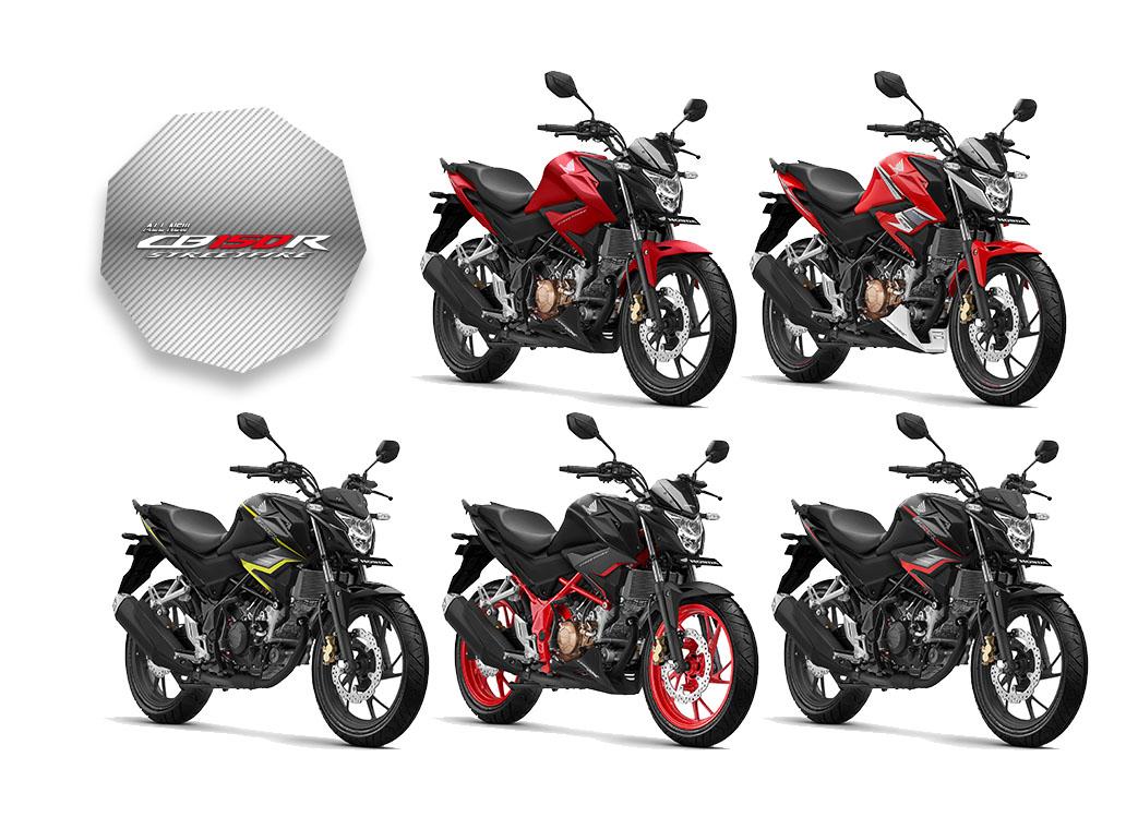 Pilihan Warna Honda CB150R 2019