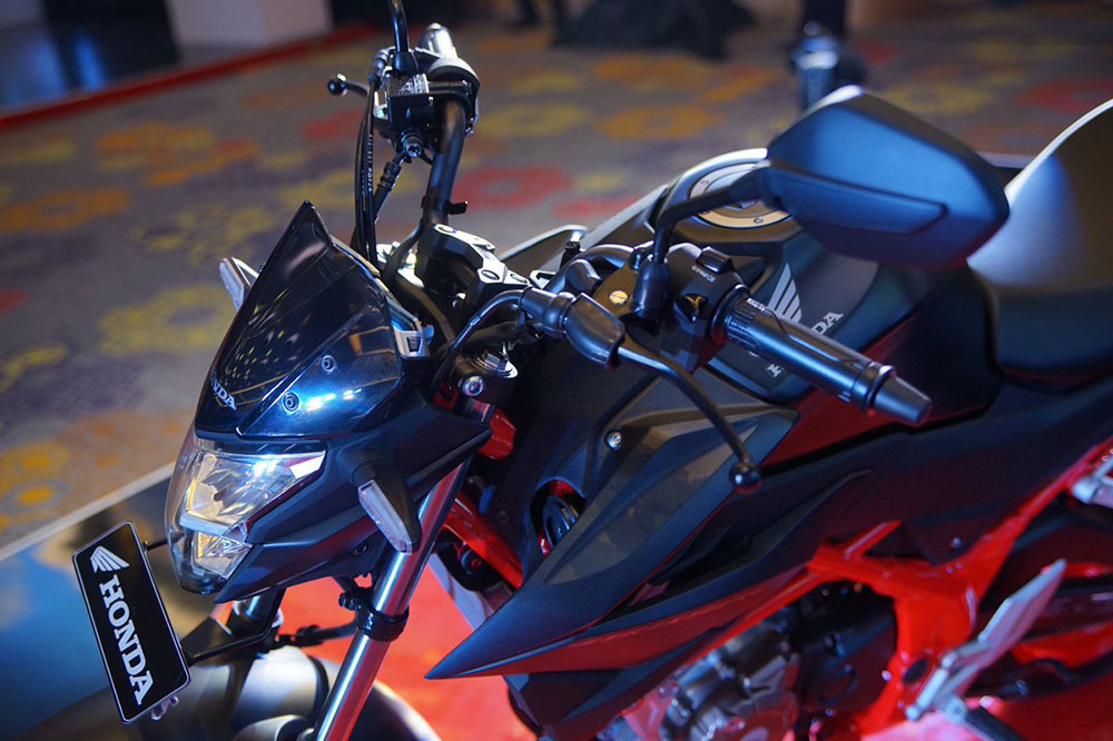 Tampilan baru All New CB150R facelift