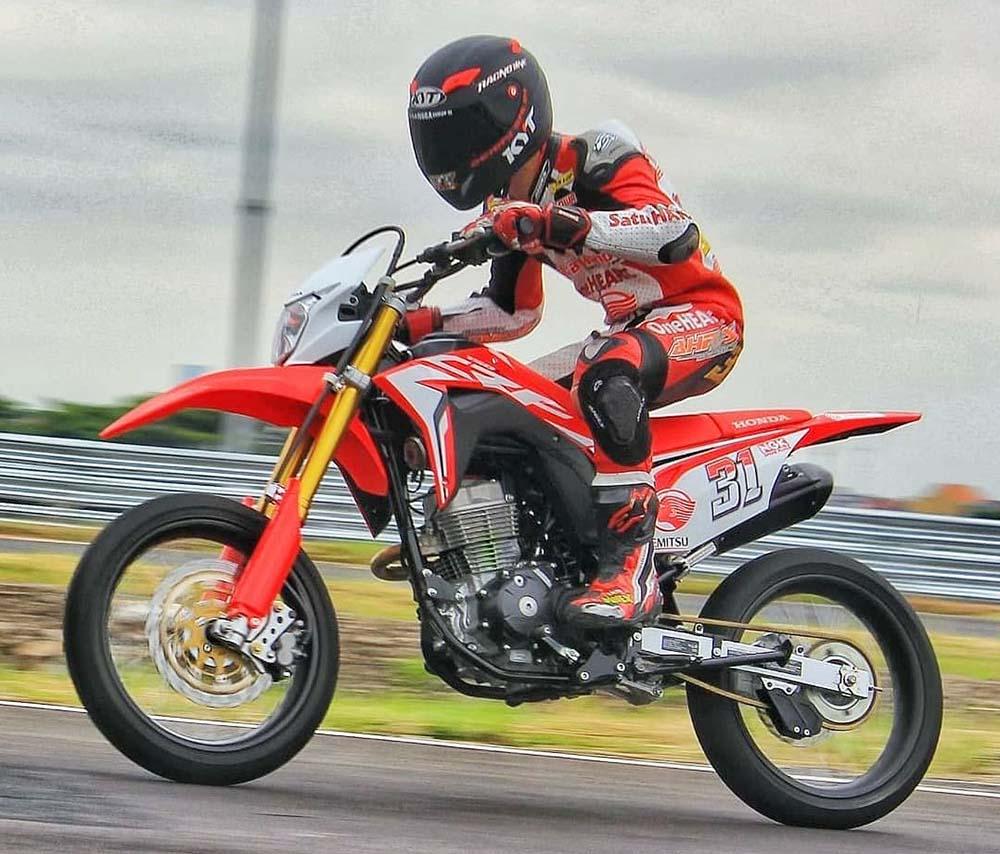 Honda CRF150L Supermoto, Motor baru Honda di 2019 kah?