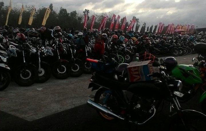 Honda Bikers Day 2017 di Gunungkidul