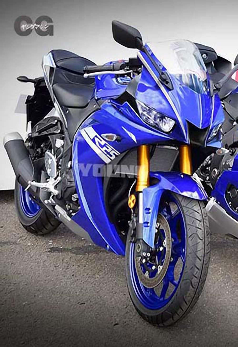 New Yamaha R25 render YM