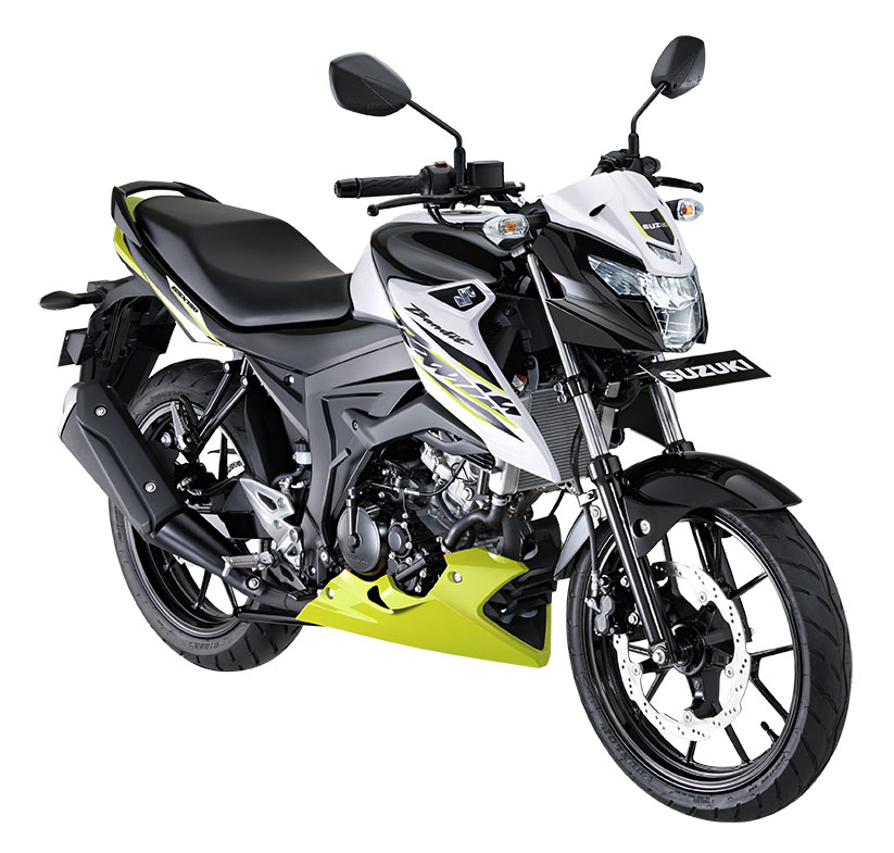 Warna Suzuki Bandit 150 Putih Duo Tone